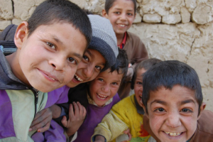 Drengegrin i Parwan lille