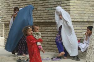 Kvinder i Mazar lille